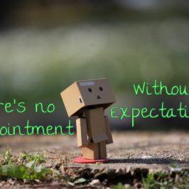Senza aspettative non c'è delusione